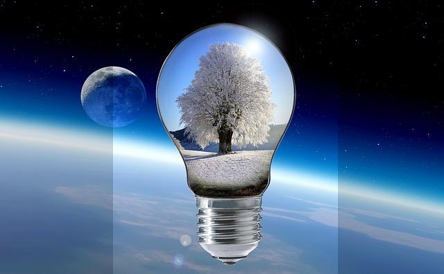 zimní žárovka