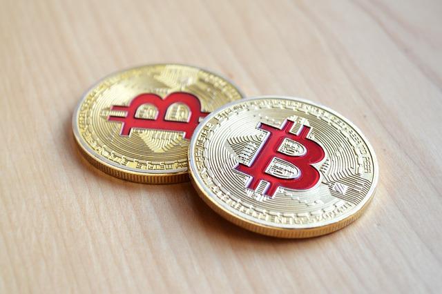 červé bitcoiny