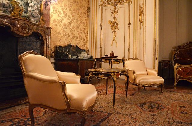 barokní židle